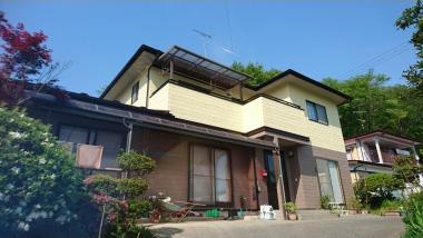 傷んでいた外壁・屋根の補修で建築当初の外観を取り戻しました!