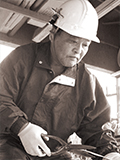 屋根銅工 岩手県板金工業組合副理事長 鈴木 正二